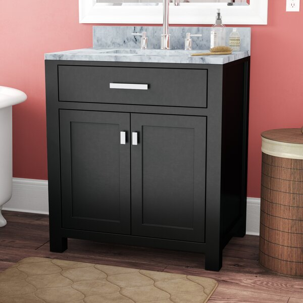 Raven 30 Single Bathroom Vanity Set by Andover Mil