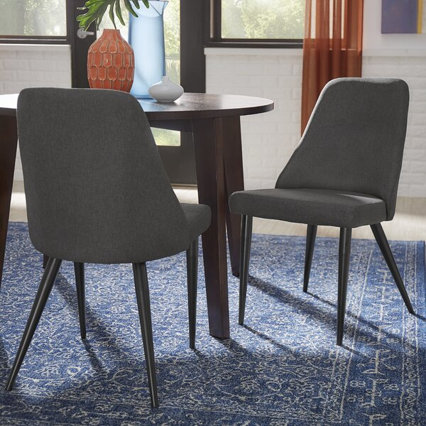 Buttars Parsons Upholstered Dining Chair (Set of 2) by Mercury Row