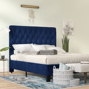 Kirtley Upholstered Standard Bed by Ivy Bronx