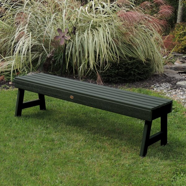 Trigg Backless Plastic Picnic Bench by Darby Home Co