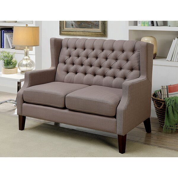 Karlie Loveseat by Alcott Hill