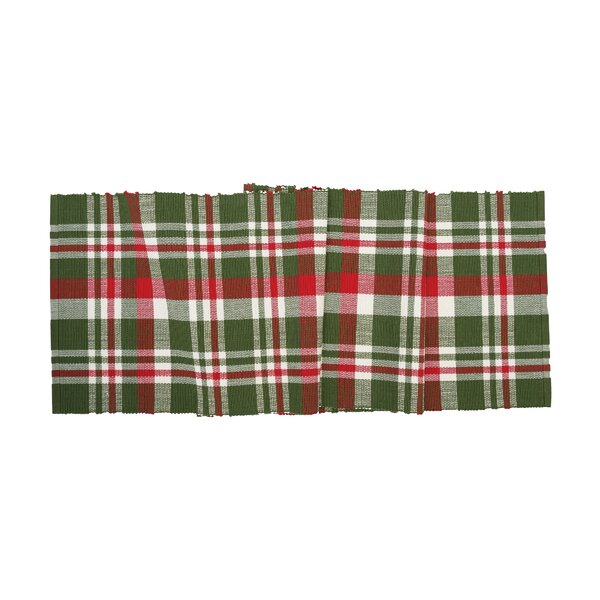 Ford Plaid Table Runner by Loon Peak