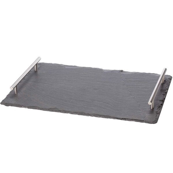 Slate Large Cheese Board with Handle by Oenophilia