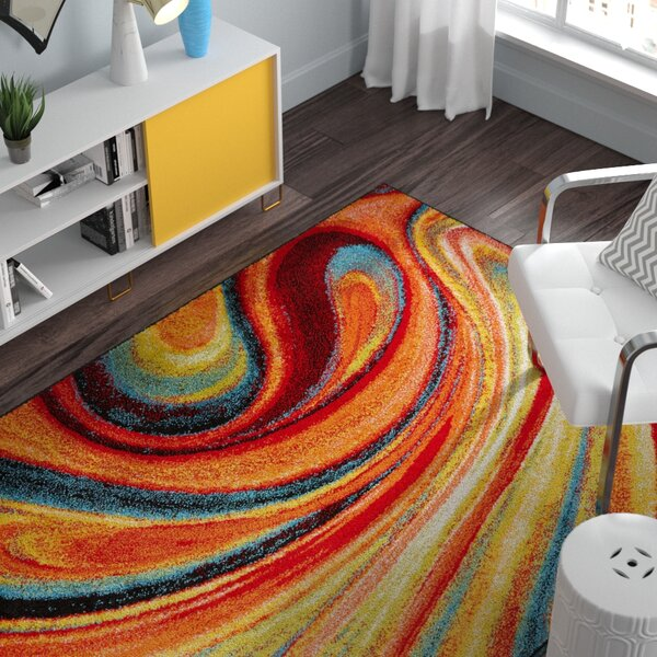Peyton Multi-Colored Area Rug by Zipcode Design