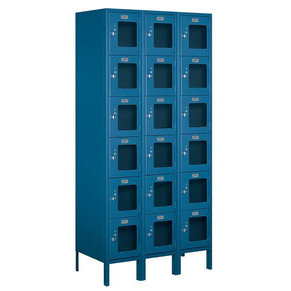 6 Tier 3 Wide Employee Locker by Salsbury Industries6 Tier 3 Wide Employee Locker by Salsbury Industries
