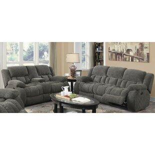 Oakdene Motion 2 Piece Reclining Living Room Set by Red Barrel Studio®