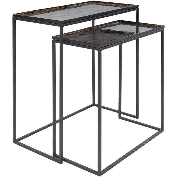 Ahmyiah Frame Nesting Tables Set By Latitude Run