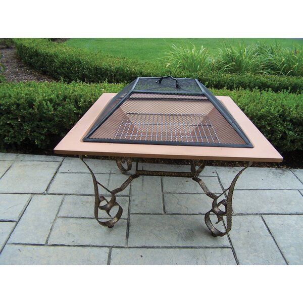 Victoria Stainless Steel Wood Burning Fire Pit by Oakland Living