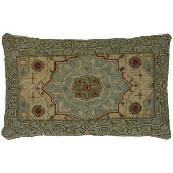 Stuart Wool Lumbar Pillow by Astoria Grand
