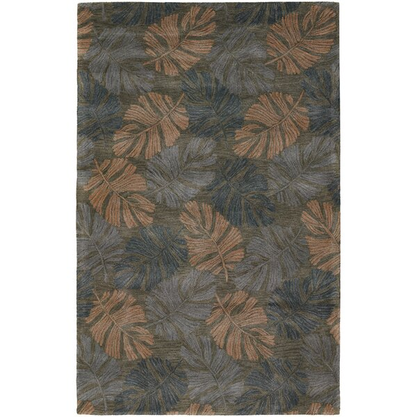 Pierview Dark Brown Area Rug by Bay Isle Home