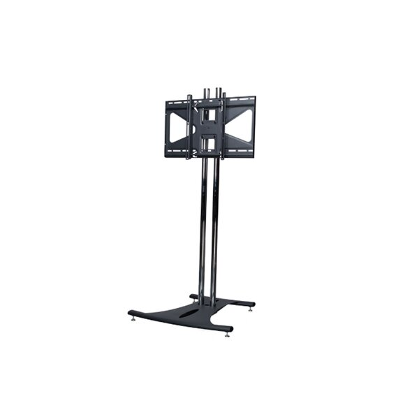 Floor Stand with 72 Dual Poles and Tilting Mount by Premier Mounts