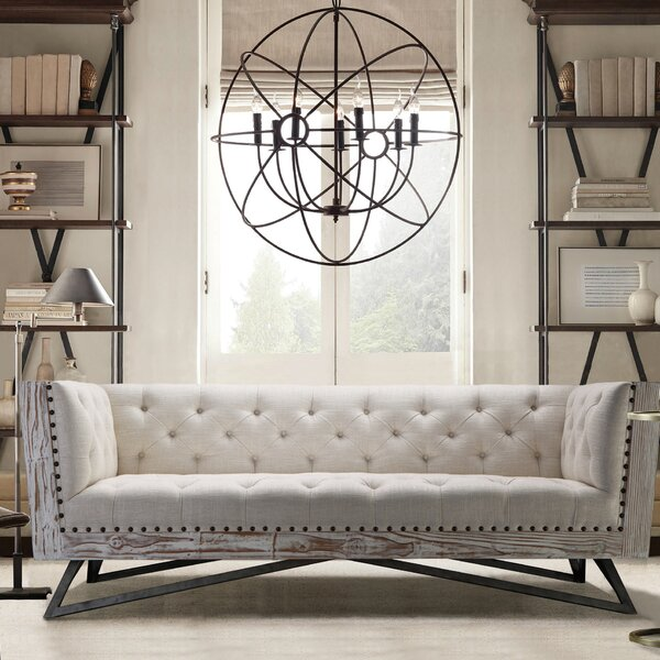 Regis Chesterfield Sofa by Armen Living