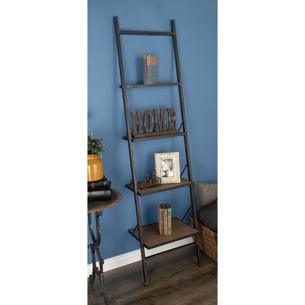 Hoadley Industrial Ladder Bookcase By Williston Forge Herry Up