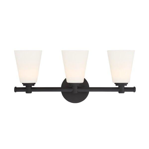 Parker 3-Light Vanity Light by Designers Fountain