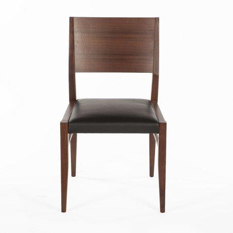 Lillehammer Side Chair in Walnut by dCOR design dCOR design