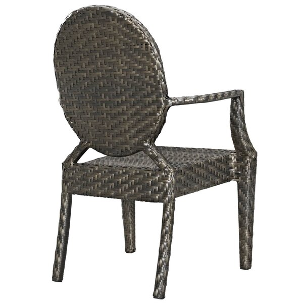 Byron Outdoor Patio Dining Chair by Bayou Breeze