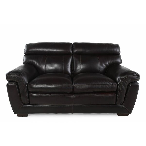 Leather Loveseat by LYKE Home