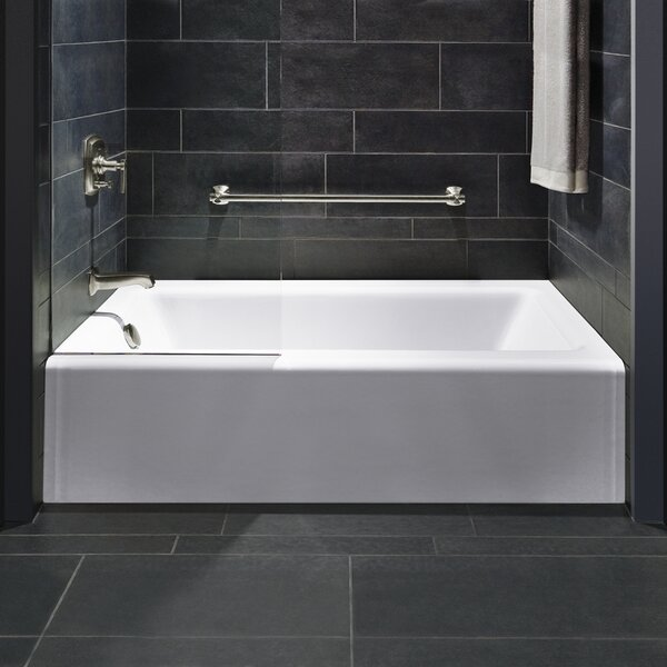 Bellwether Alcove 60 x 32 Soaking Bathtub by Kohler