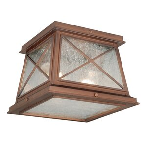 Mackinac 2-Light Flush Mount