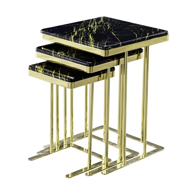 Solorzano Frame Nesting Tables By Everly Quinn