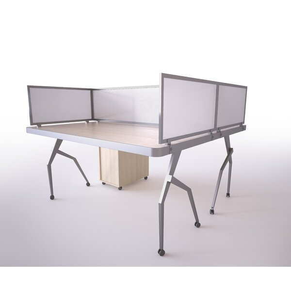 Polycarbonate Desk Mounted Privacy Panel by OBEX