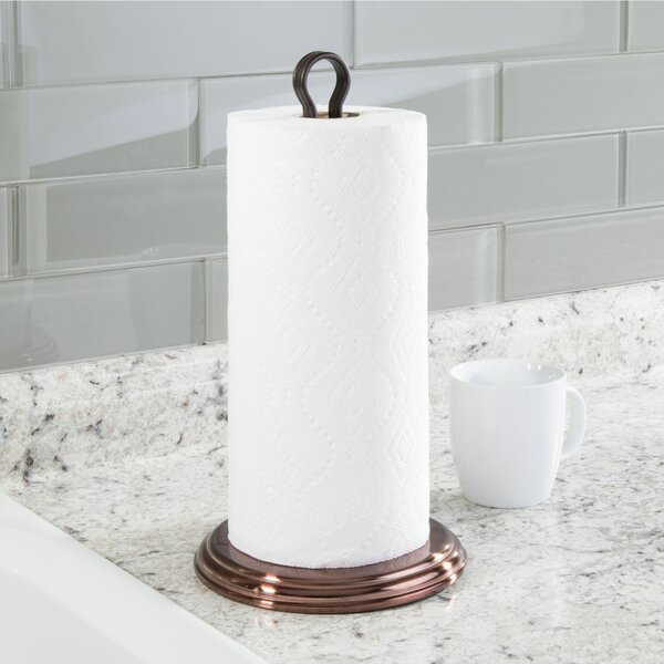 Eisenman Paper Towel Stand by Rebrilliant