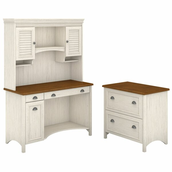 Carroll 3 Piece Rectangular Desk Office Suite by Darby Home Co