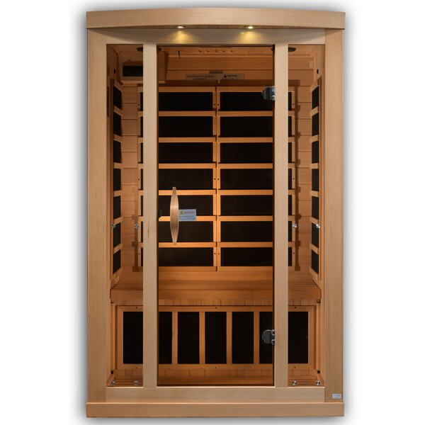 Reserve Edition 2 Person FAR Infrared Sauna by Golden Designs