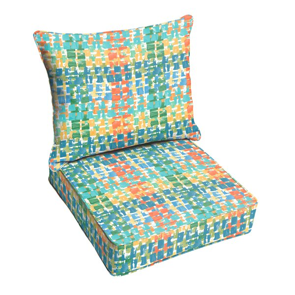 Momea Indoor/Outdoor Lounge Chair Cushion by Bungalow Rose