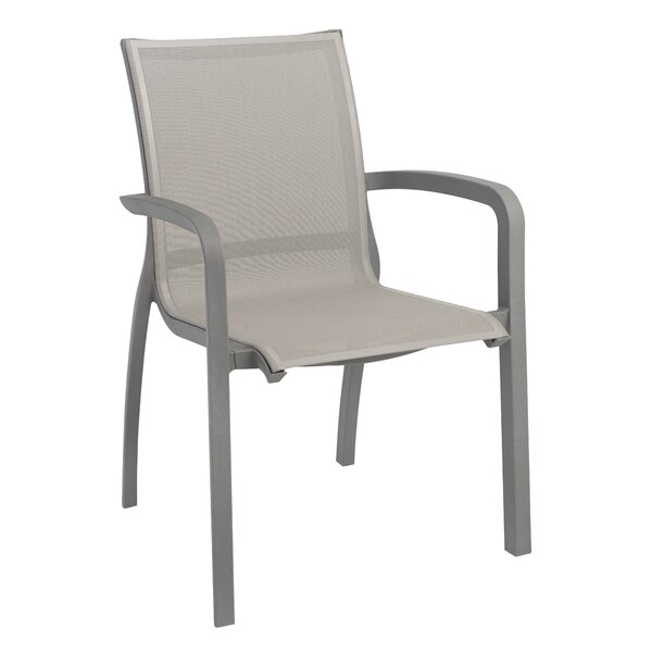 Sunset Stacking Dining Arm Chair (Set of 4) by Grosfillex Expert