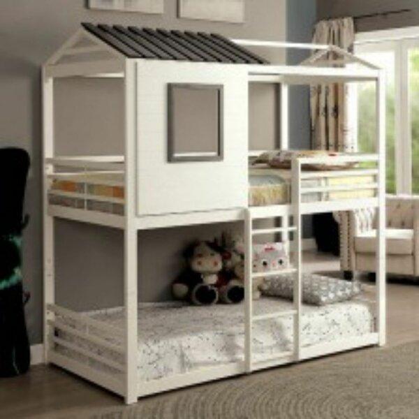 Beyers Stackable Twin Bunk Bed by Harriet Bee