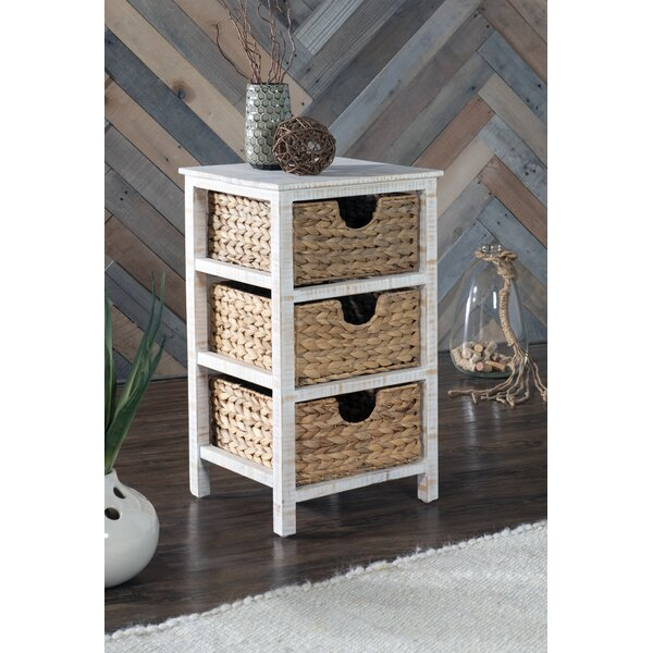 Doerr End Table with Storage by Highland Dunes