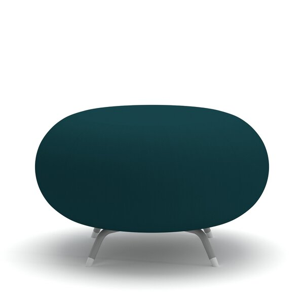 Pebble Scalloped Upholstered Bench