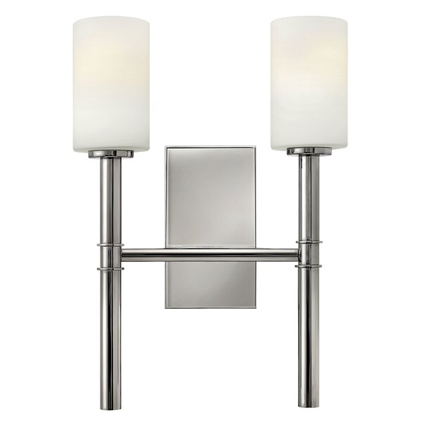 Darrell 2-Light Armed Sconce by Langley Street