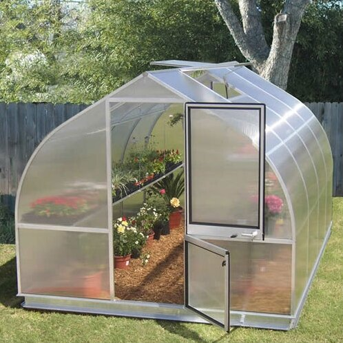 Riga IV 7.7 Ft. W x 14 Ft. D Greenhouse by Hoklartherm