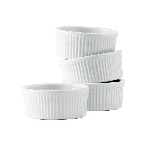 Duratux Porcelain Souffle (Set of 4) by Tuxton Home