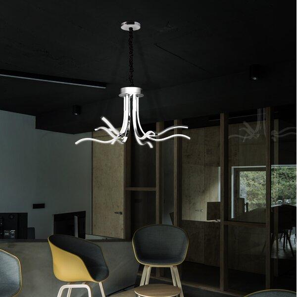 Comerfo 8 - Light Unique / Statement Classic / Traditional LED Chandelier by Orren Ellis Orren Ellis