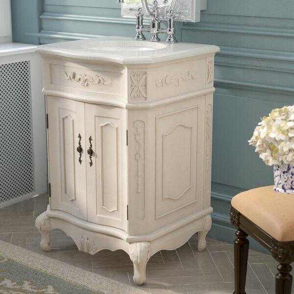 Ambudkar 24 Single Bathroom Vanity Set By Astoria Grand.