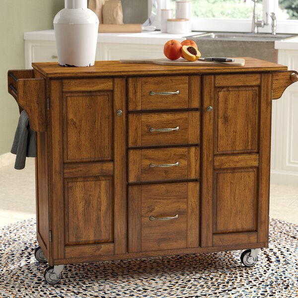 Legler-a-Cart Kitchen Island by Millwood Pines