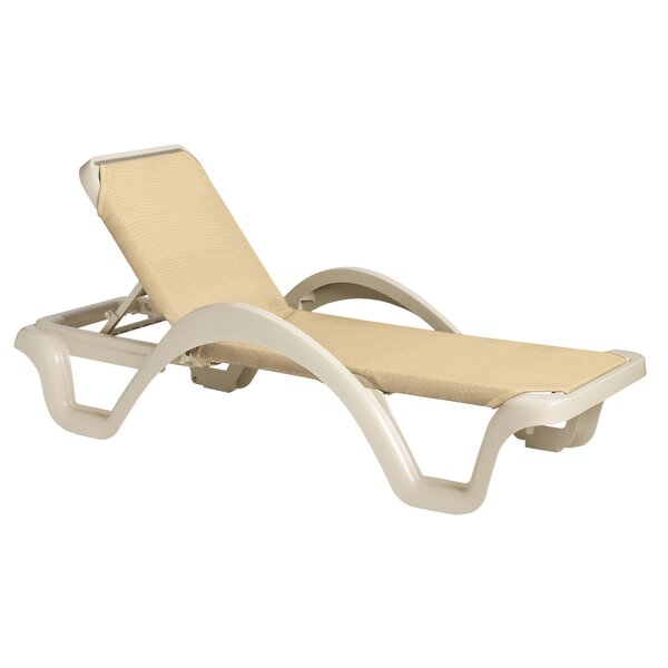 Vanzant Reclining Chaise Lounge (Set of 14) by Latitude Run