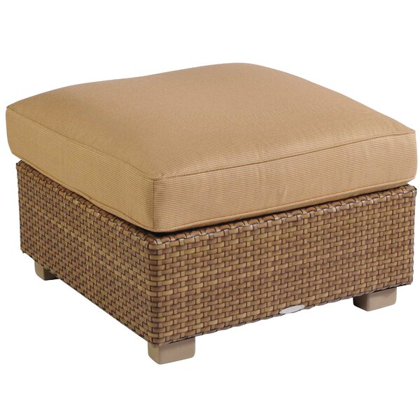 Sedona Ottoman with Cushion by Woodard