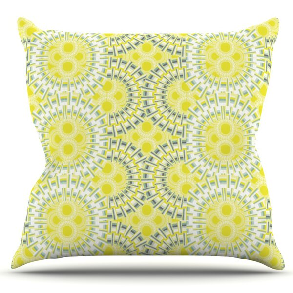 Blossoming Buds by Miranda Mol Outdoor Throw Pillow by East Urban Home