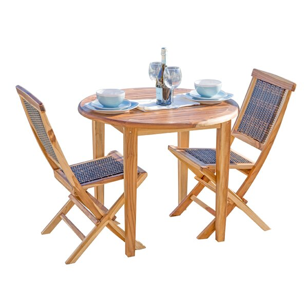 Oasis Solid Wood Dining Table by EcoDecors