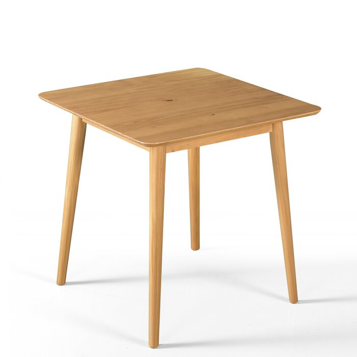 Bednarz Mid Century Wood Solid Dining Table