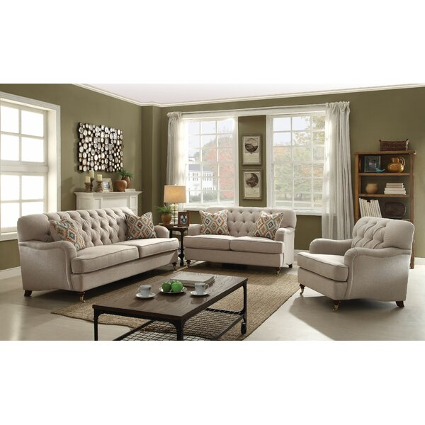 Obrien Configurable Sofa Set by Canora Grey
