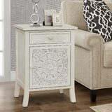 Melida End Table with Storage by One Allium Way®
