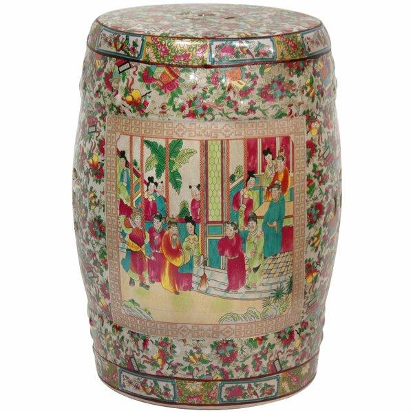 Garden Stool by Oriental Furniture
