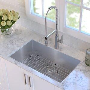 Undermount Kitchen Sinks Youu0027ll Love | Wayfair