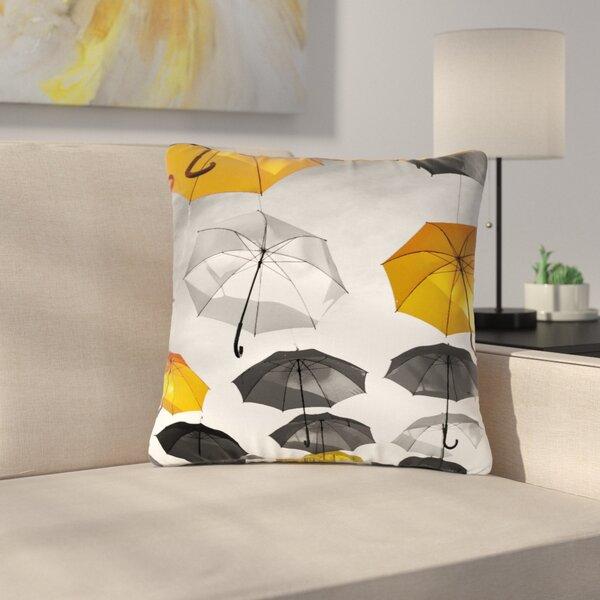 888 Design Umbrellas Outdoor Throw Pillow by East Urban Home