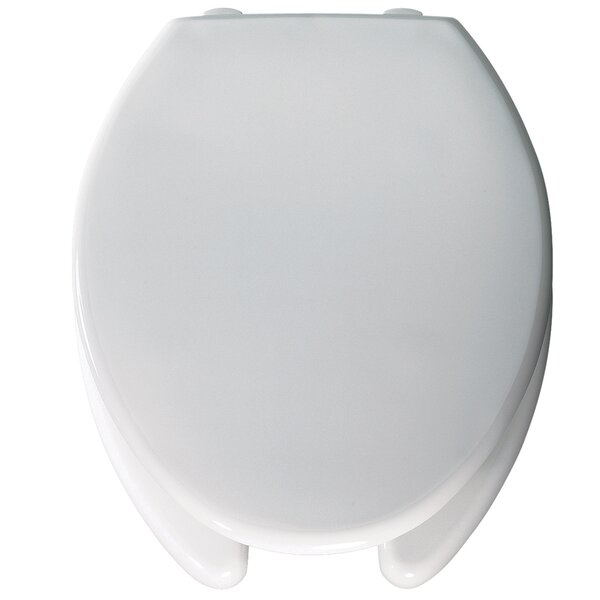 Medic Aid Open Front Elongated Toilet Seat by Bemis